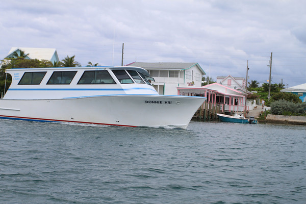 One of Abaco's many, efficient ferries. Photo by Stop Motion Productions.