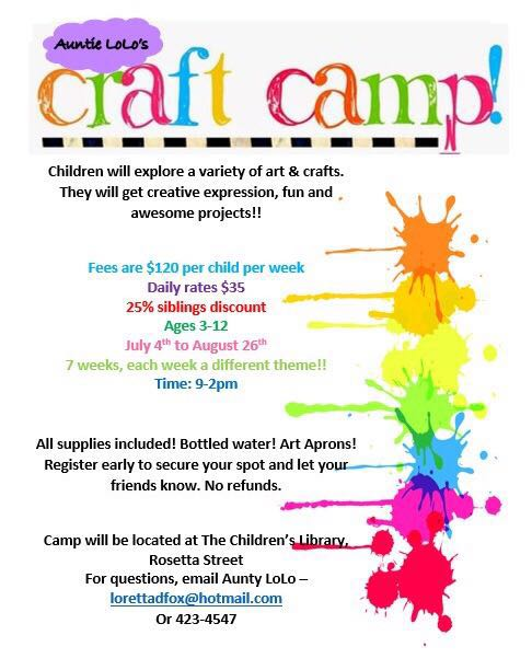 Auntie LoLo's Craft Camp