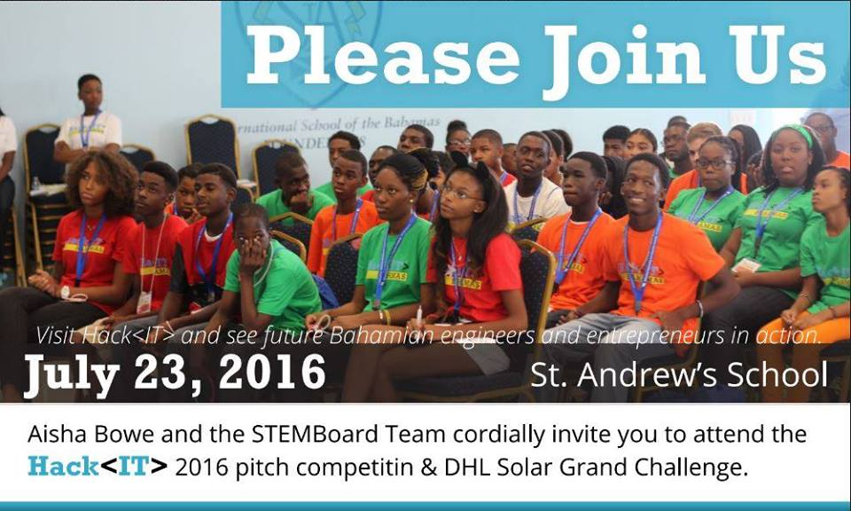 2016 Hack IT Pitch Competition & Grand Solar Challenge