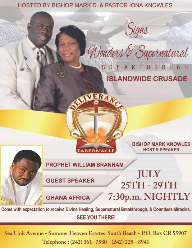 Signs, Wonders & Supernatural Breakthrough Islandwide Crusade