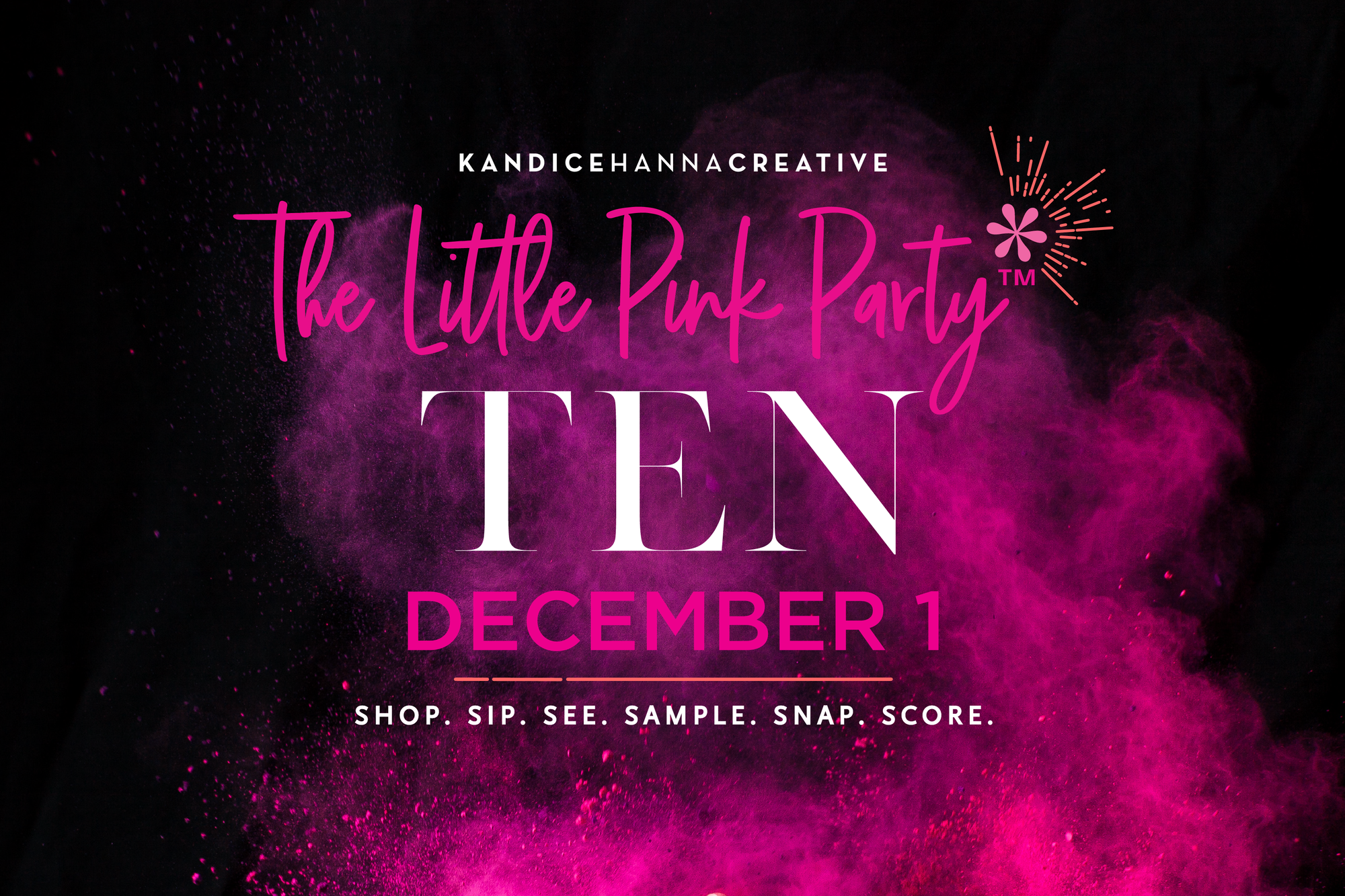 The Little Pink Party Ten