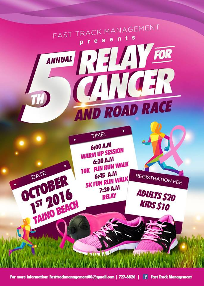 5th Annual Relay for Cancer & Road Race