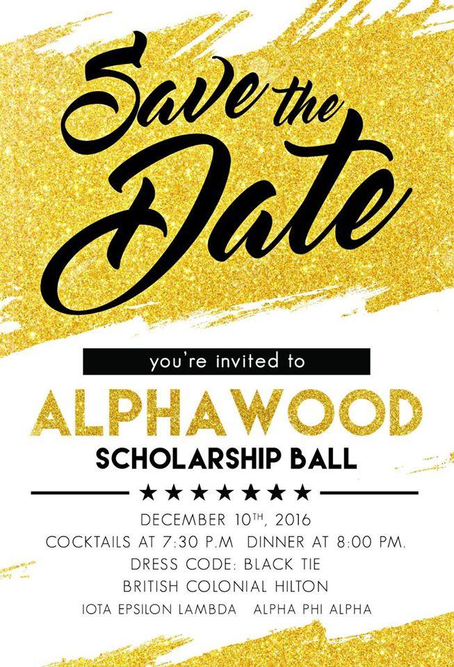 Alpha Wood Scholarship Ball