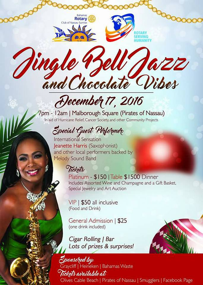 Jingle Bell Jazz and Chocolate Vibes