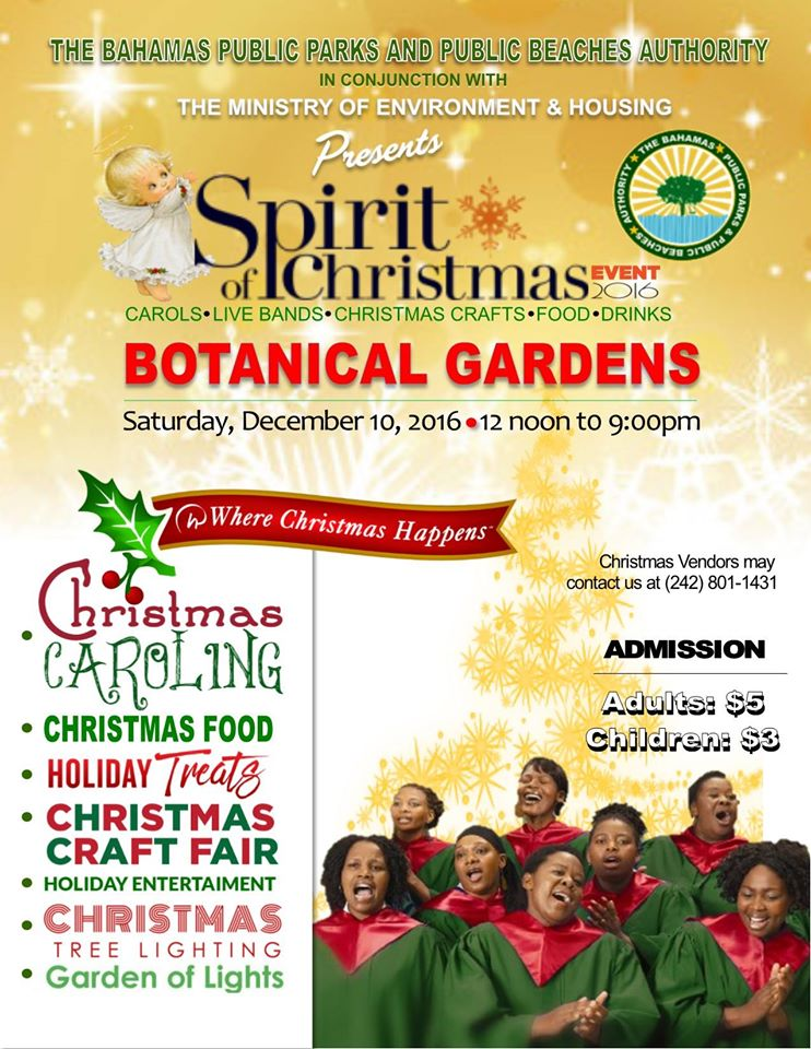 Spirit of Christmas at The Botanical Gardens