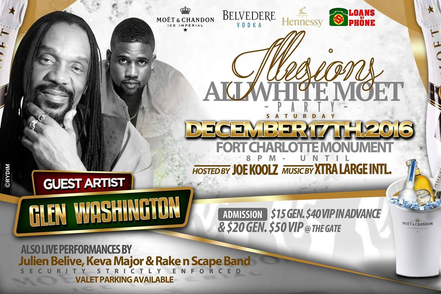Illusions All White Moet Party