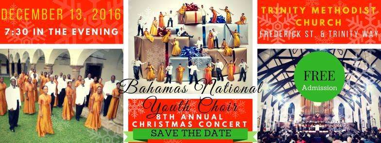 Bahamas National Youth Choir 8th Annual Christmas Concert