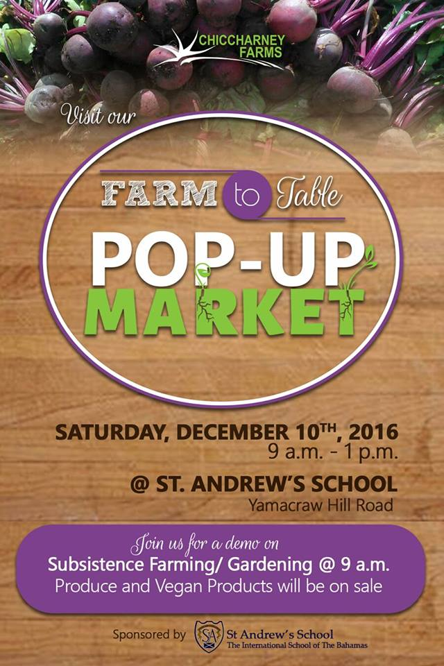 Farm to Table Pop Up Market