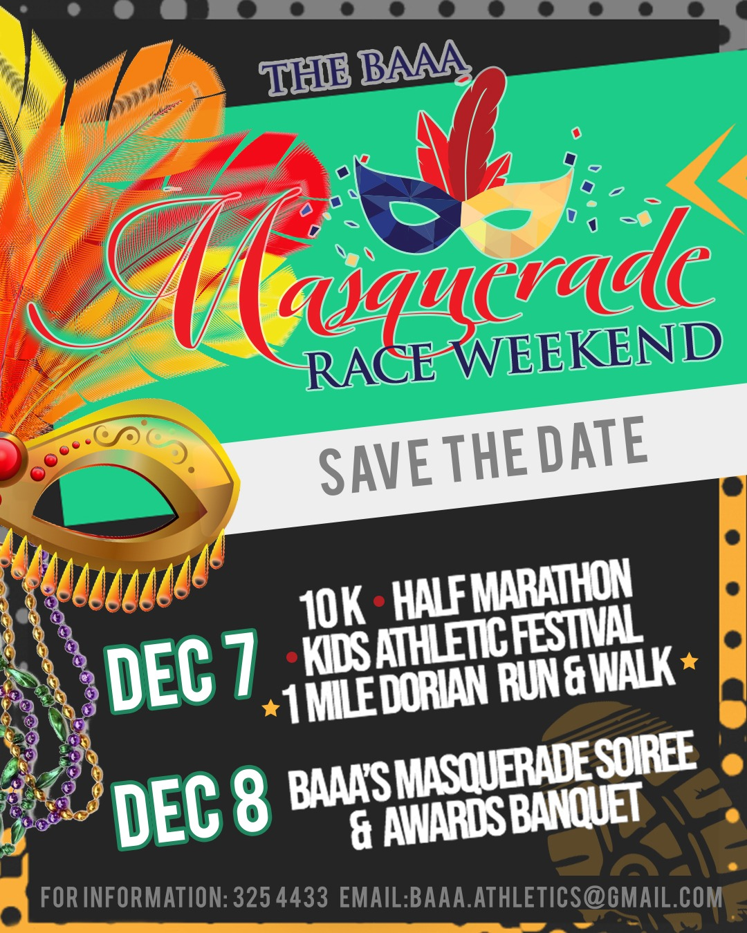 Masquerade Race Weekend