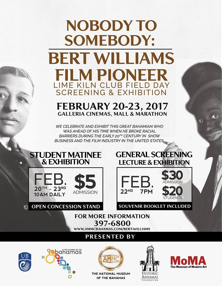 Nobody to Somebody | Bert Williams Film Pioneer