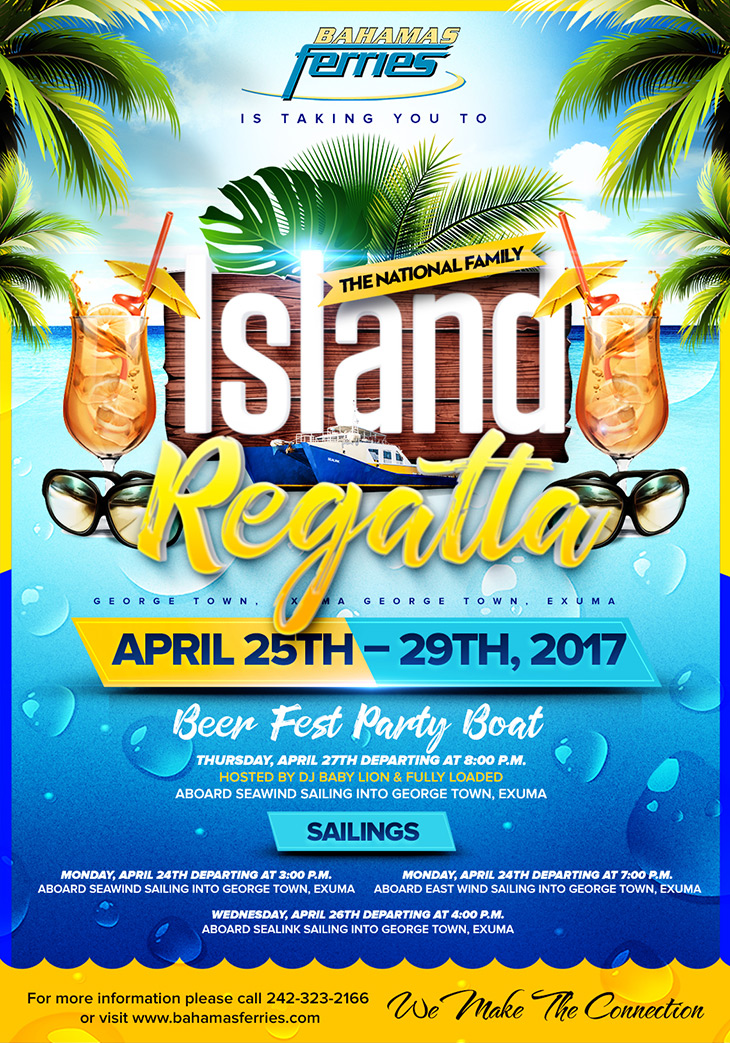 Bahamas Ferries | The National Family Island Regatta