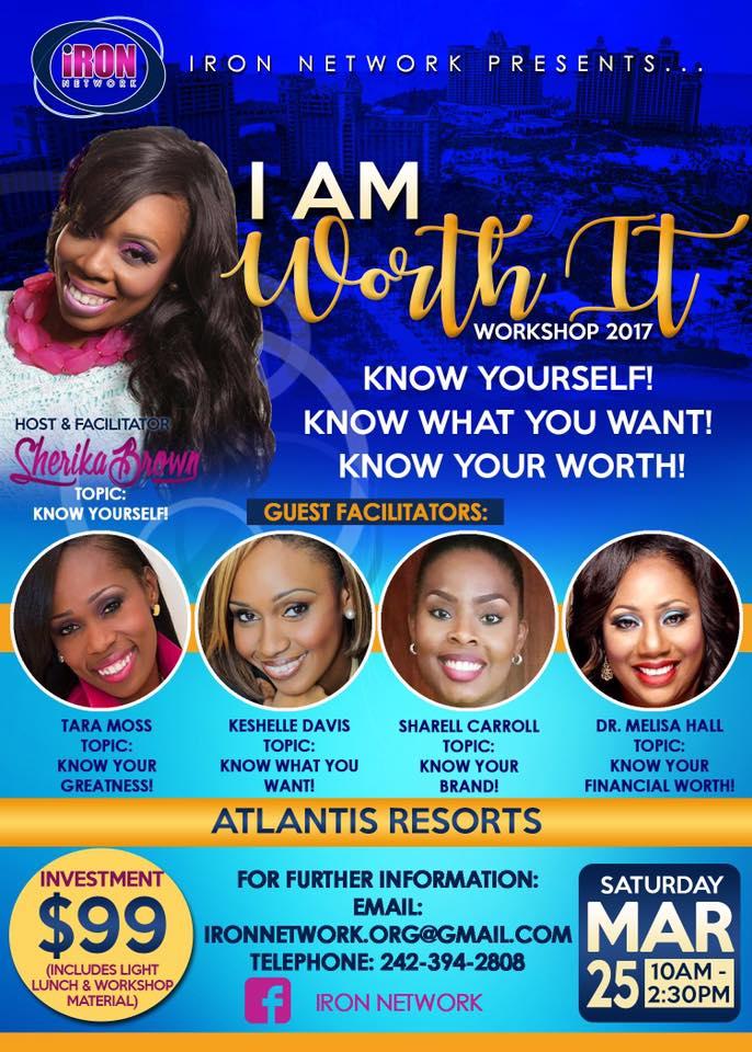 I Am Worth It Workshop 2017