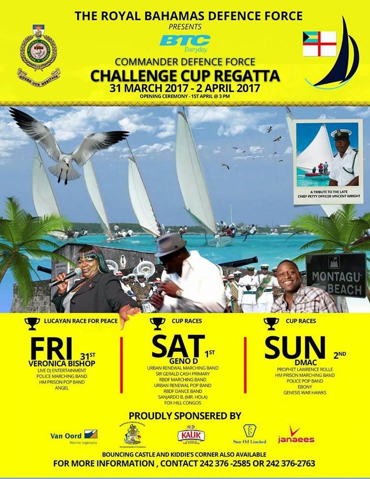 Commander Defence Force CHALLENGE CUP REGATTA
