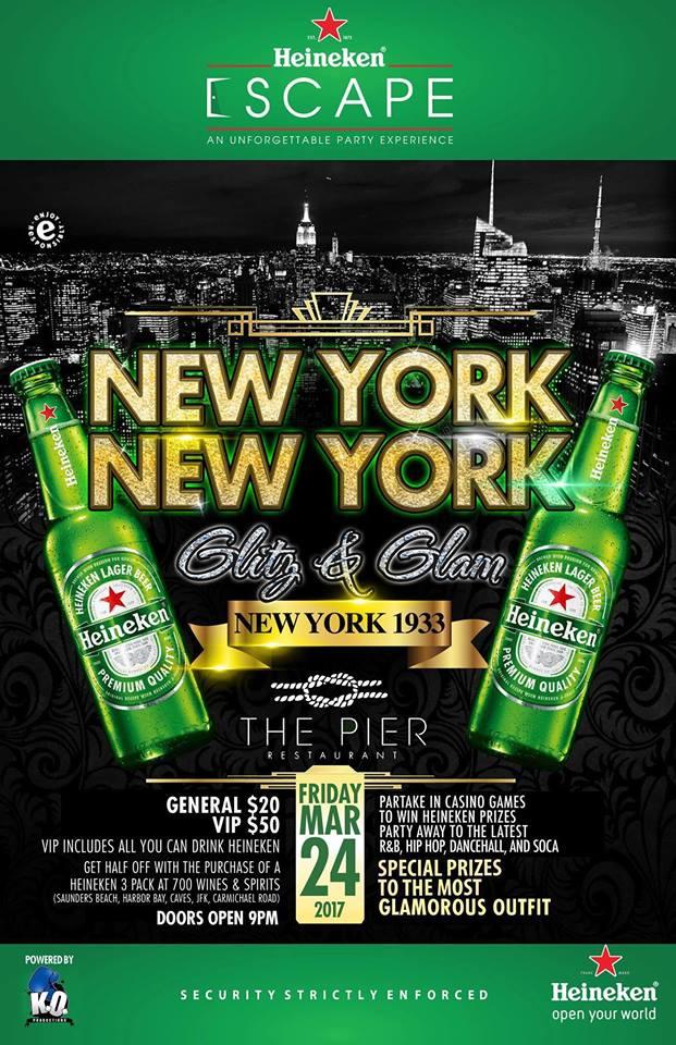 New York, New York Glitz and Glam