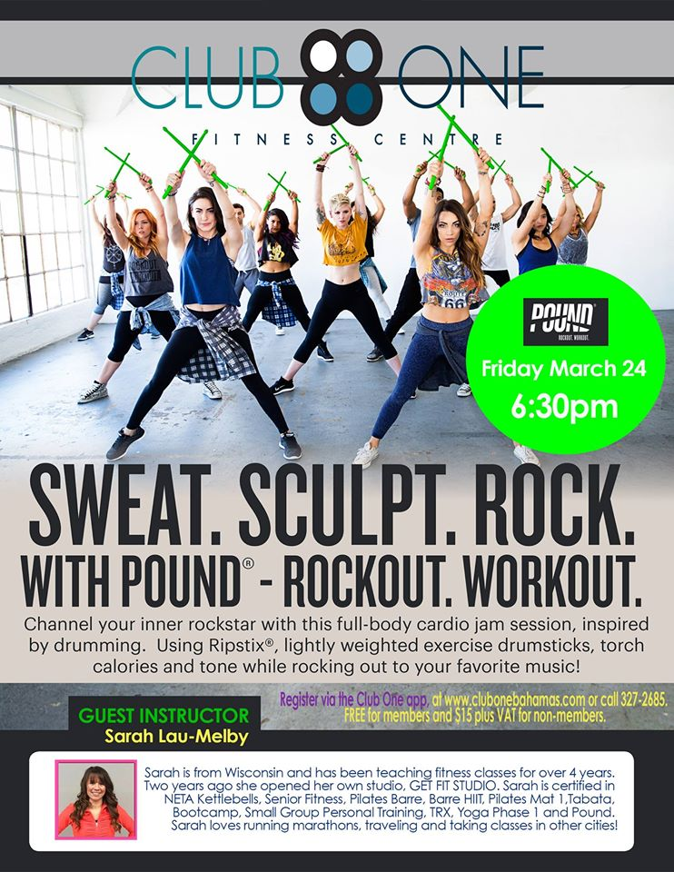 POUND at Club One Fitness Centre