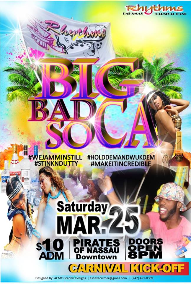 Rhythms Bahamas Carnival Band BIG BAD SOCA