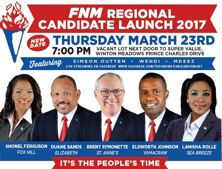 FNM Regional Candidate Launch 2017