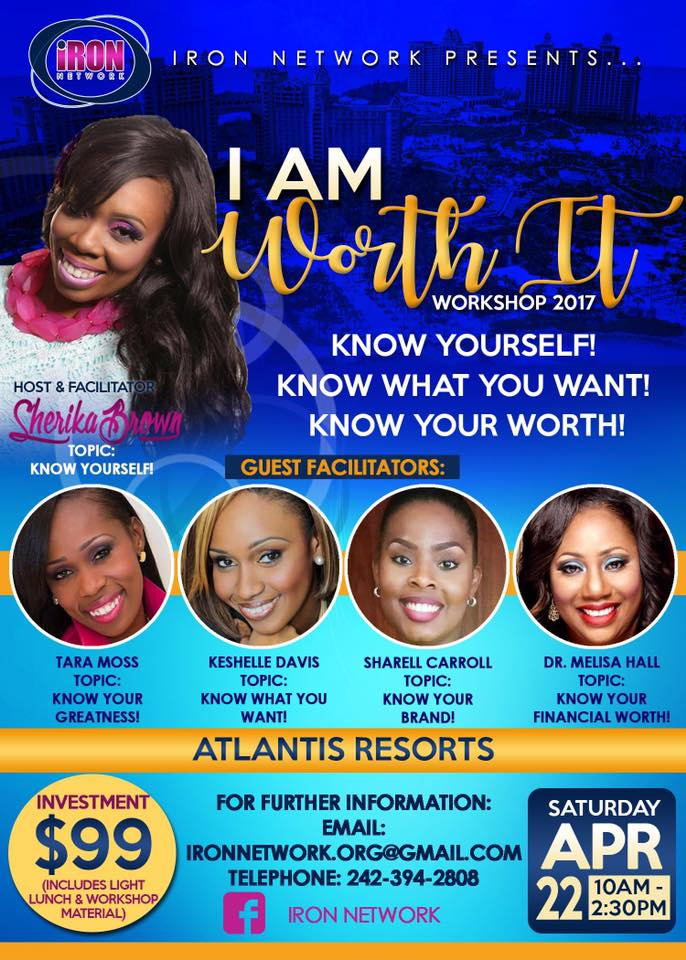 I Am Worth It Workshop 2017