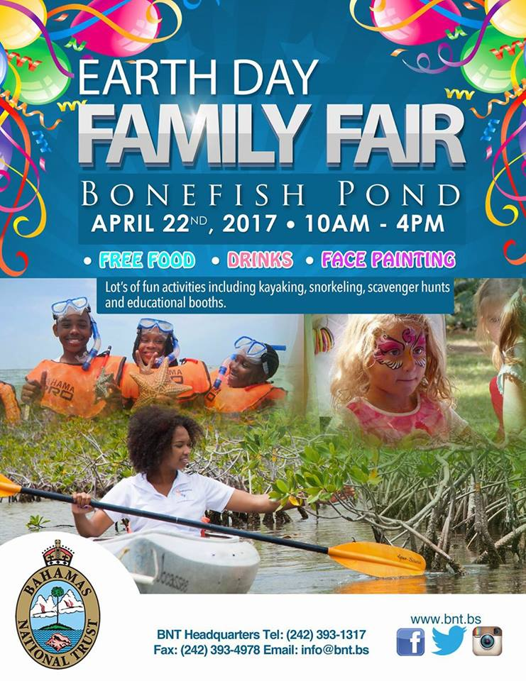 Earth Day Family Fair at Bonefish Pond