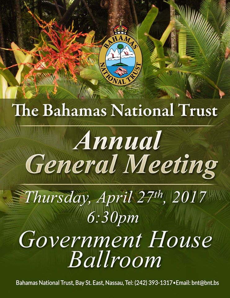 The Bahamas National Trust Annual General Meeting