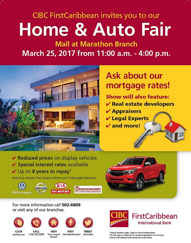 CIBC FirstCaribbean Home and Auto Fair