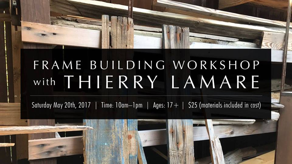 Frame Building Workshop with Thierry Lamare
