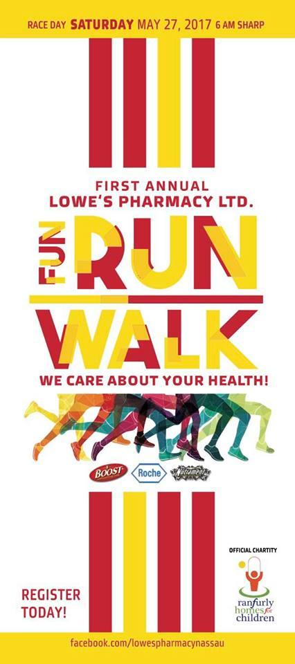 1st Annual Lowe's Pharmacy Ltd. Fun Run Walk