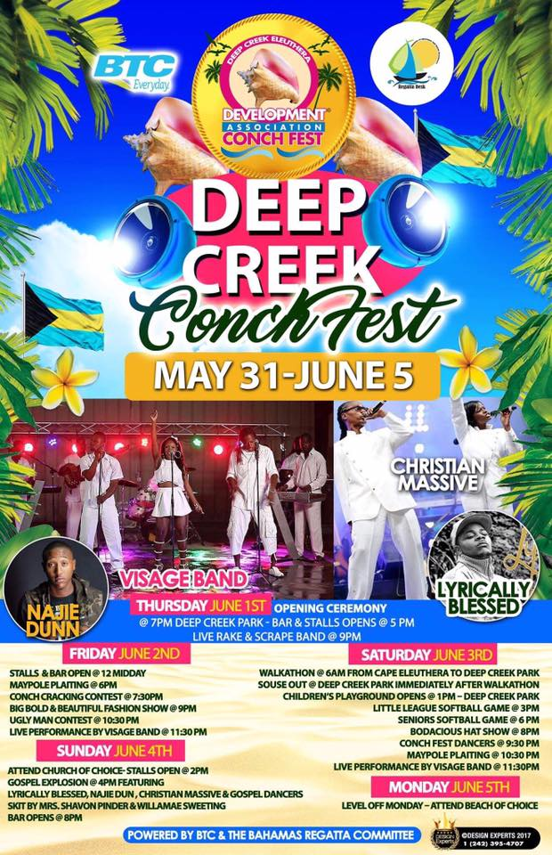 Deep Creek Conch Fest 2017 (Eleuthera)