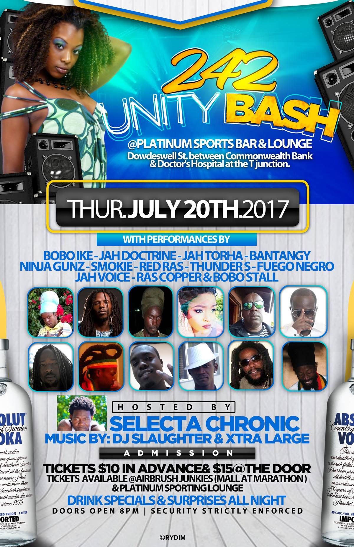 242 Unity Beach Bash