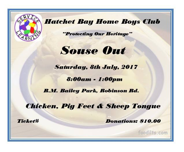 Hatchet Bay Home Boys Club Souse Out