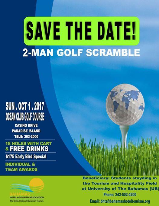 2 Man Golf Scramble