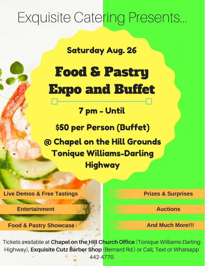 Food and Pastry Expo and Buffet