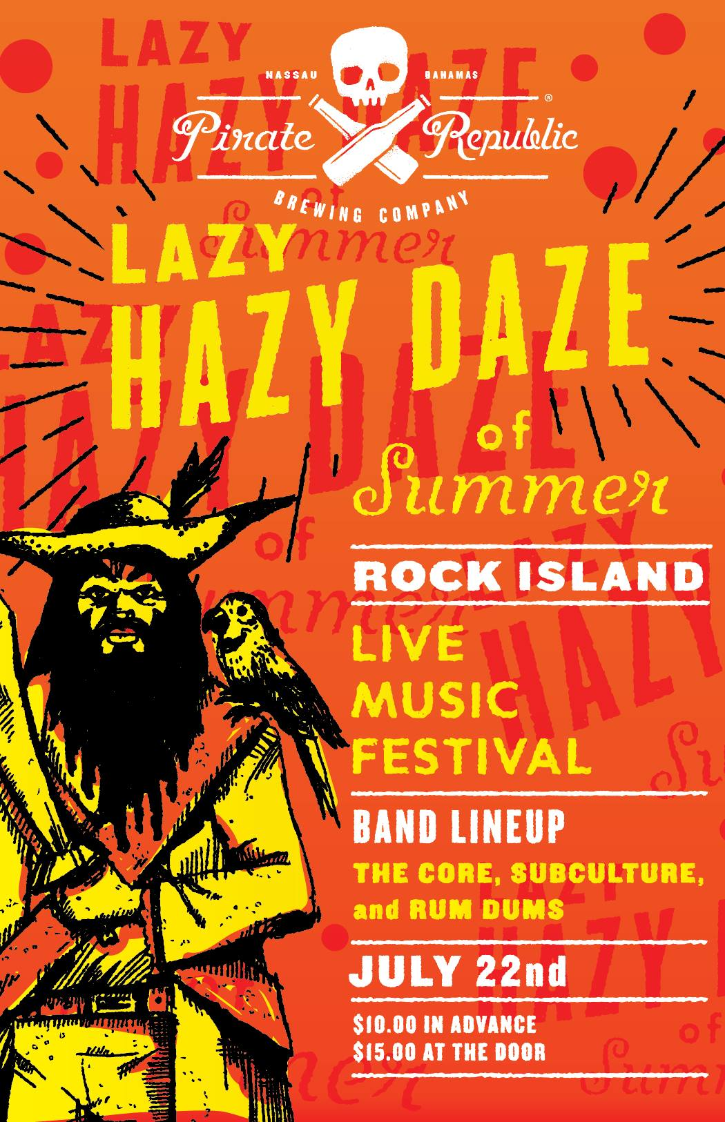 Lazy Hazy Daze of Summer Rock Island