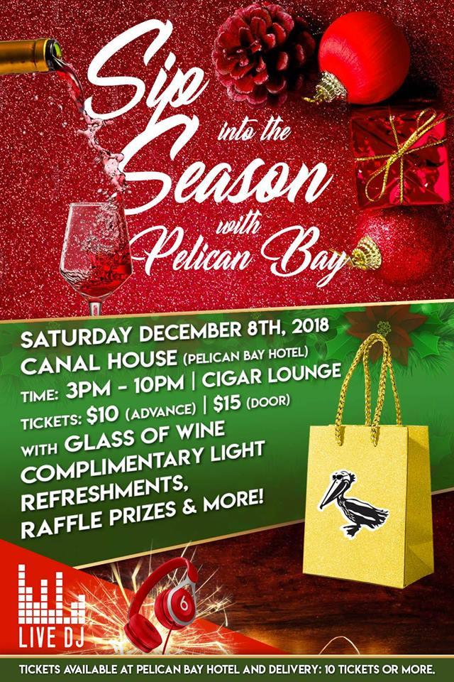 Sip into The Season with Pelican Bay