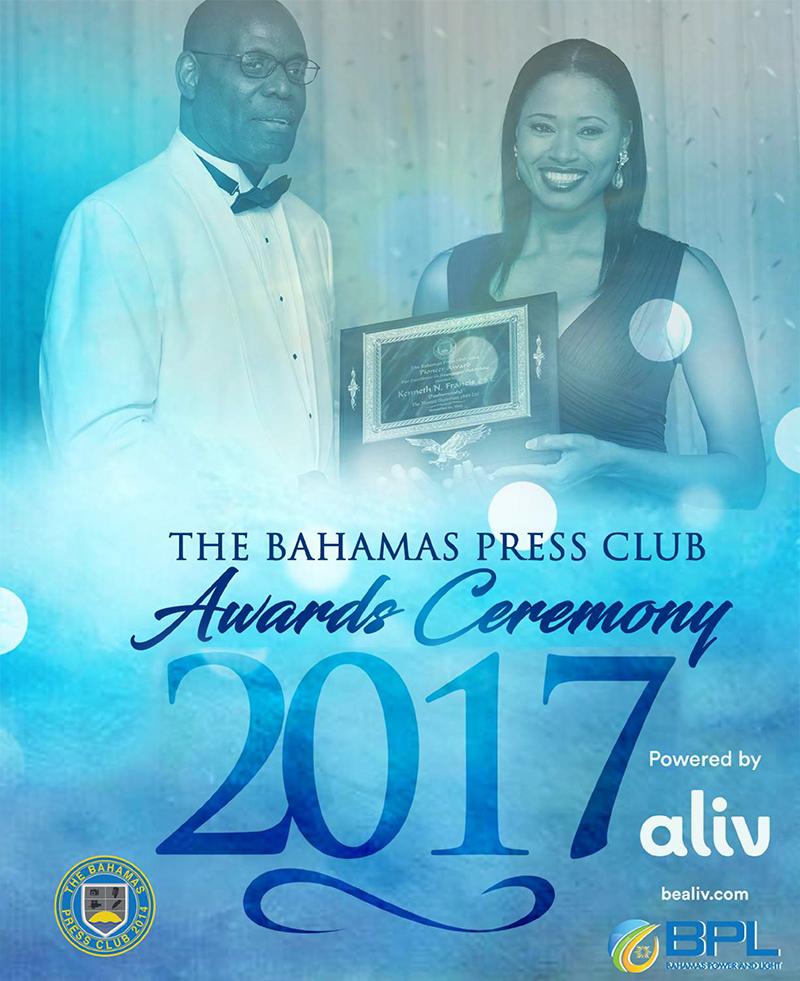 The 3rd Annual Bahamas Press Club Media Awards Banquet
