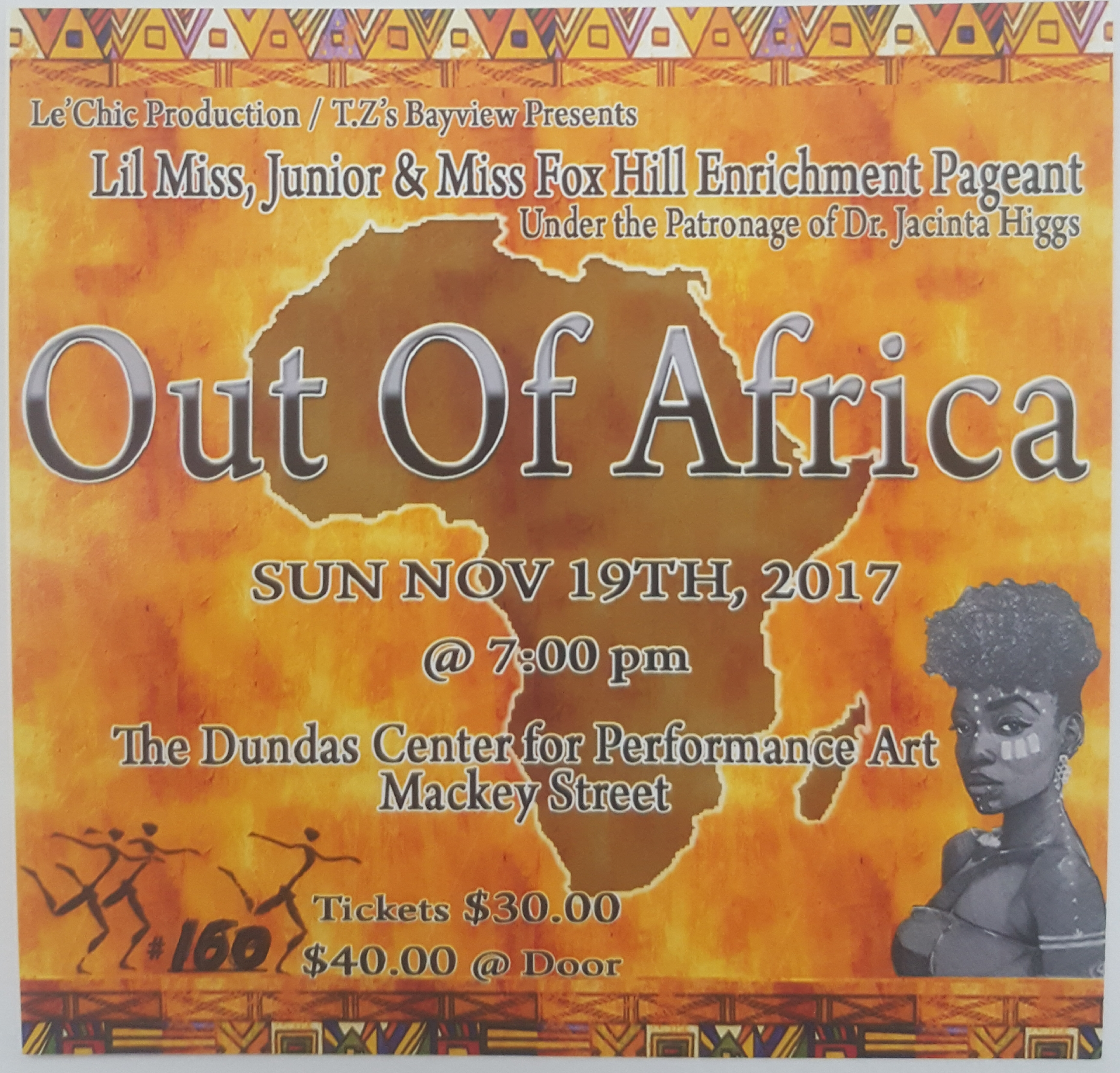Lil Miss, Junior and Miss Fox Hill Pageant | Out of Africa