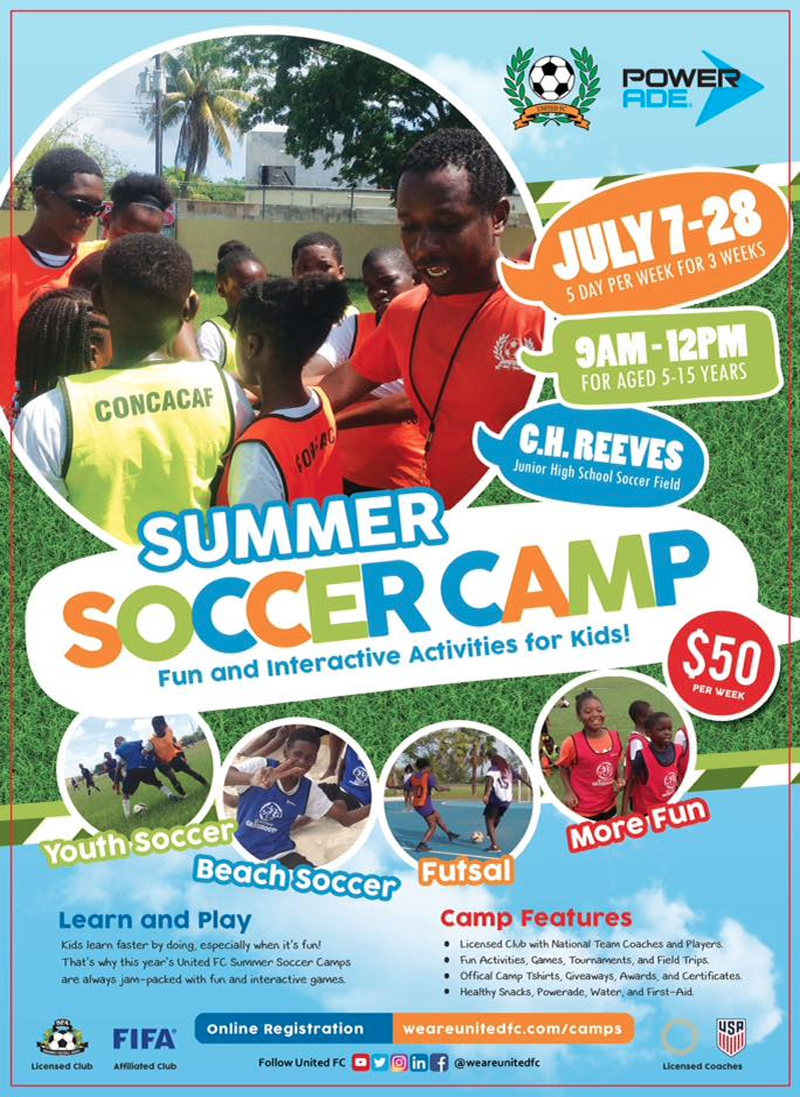 2018 United FC Summer Soccer Camp
