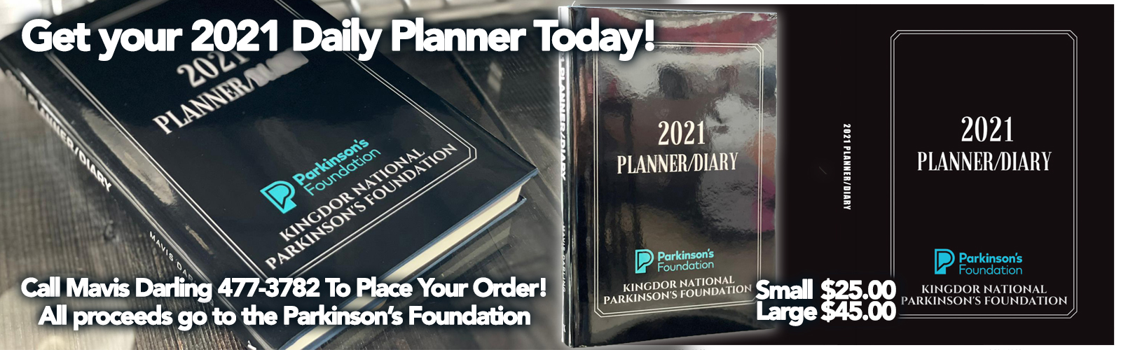 Get Your 2021 Daily Planner Today!