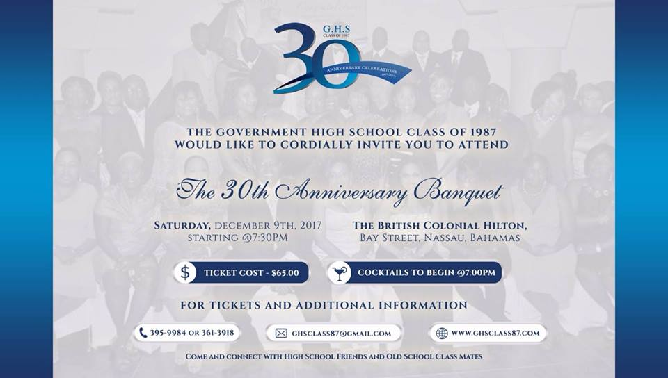 Government High School Class of 1987 30th Anniversary Banquet