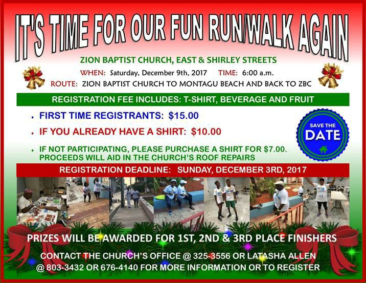 Zion Baptist Fun Run Walk