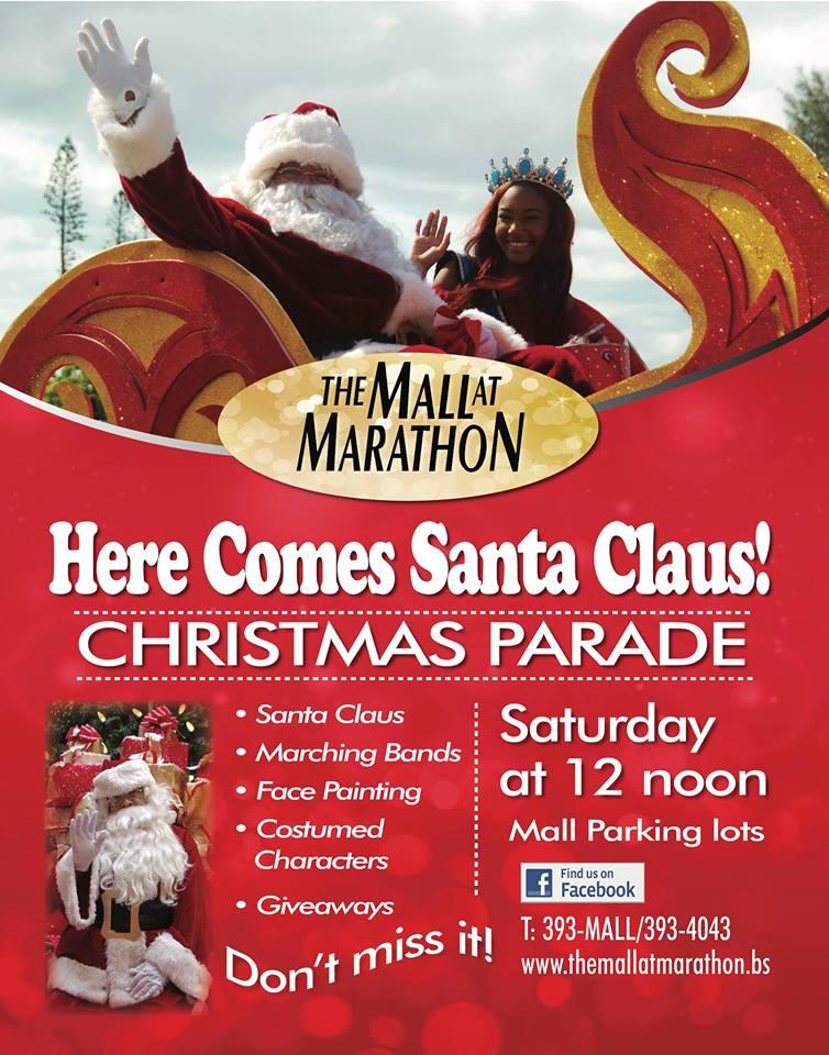 Here Comes Santa Claus Christmas Parade