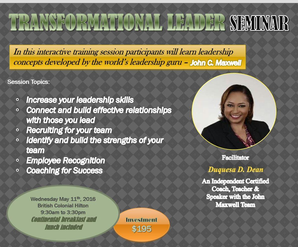 Transformational Leader Seminar