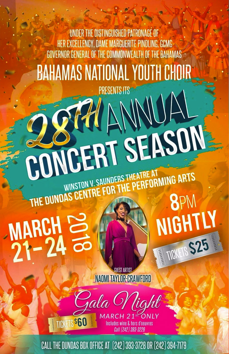 Bahamas Nation Youth Choir Present The 28th Annual Concert Season
