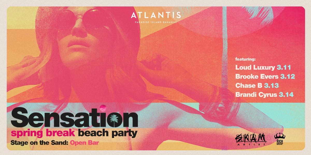 Sensation Spring Break Beach Party