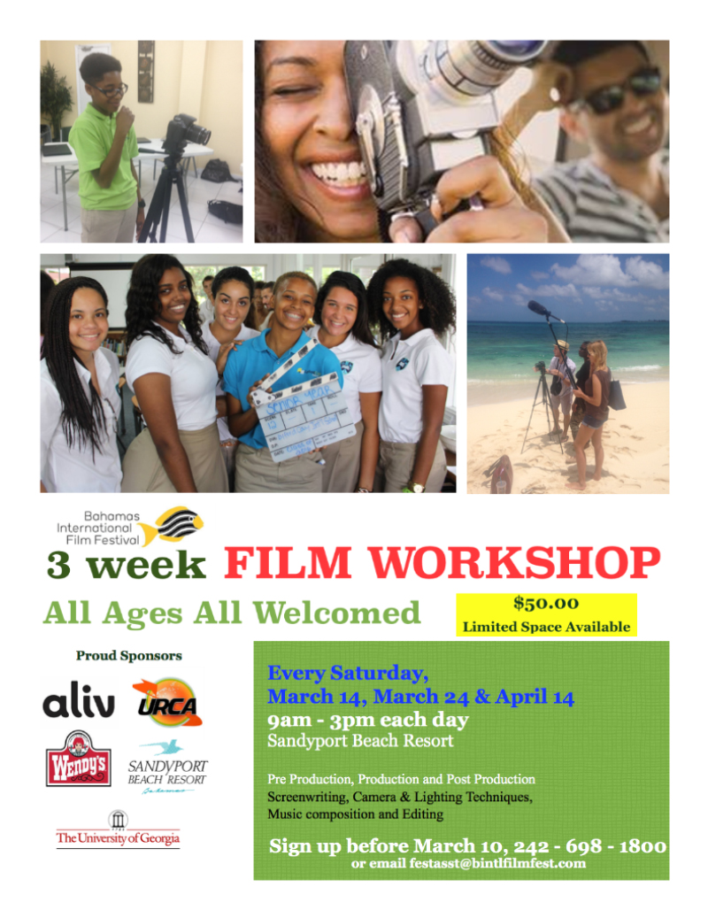 3 Week Film Workshop