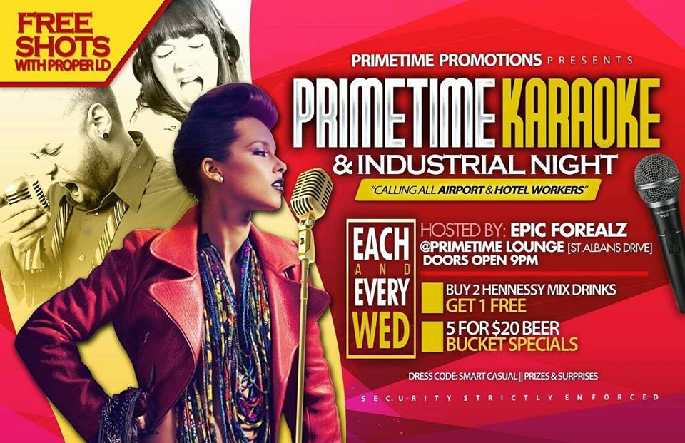 Primetime Karaoke & Industrial Night