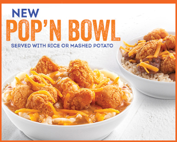 New Pop'N Bowl At Popeyes