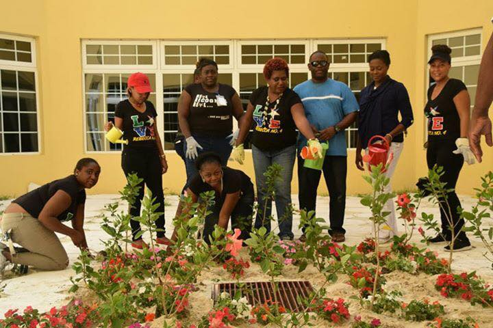 Sandilands gives local Lodge Chapter green thumbs up for garden project