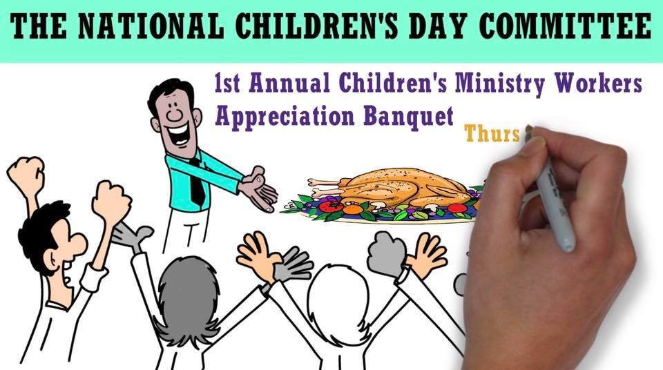 Children's Ministry Workers Appreciation Banquet