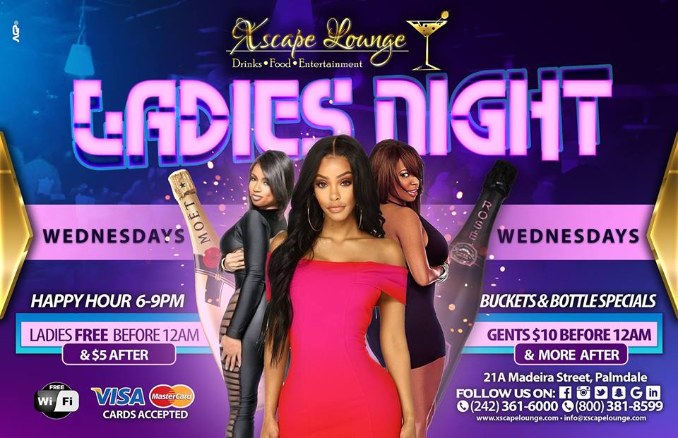 Ladies Night Thursdays Presented by Xscape Lounge
